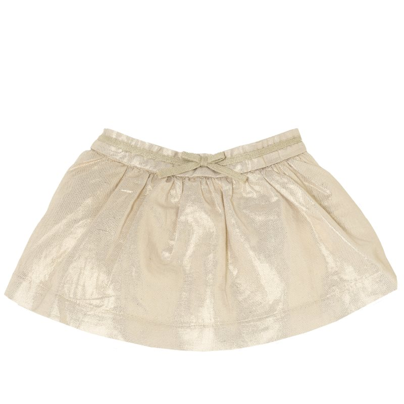 Фото - Skirt Chicco, size 068, color beige color block skirt