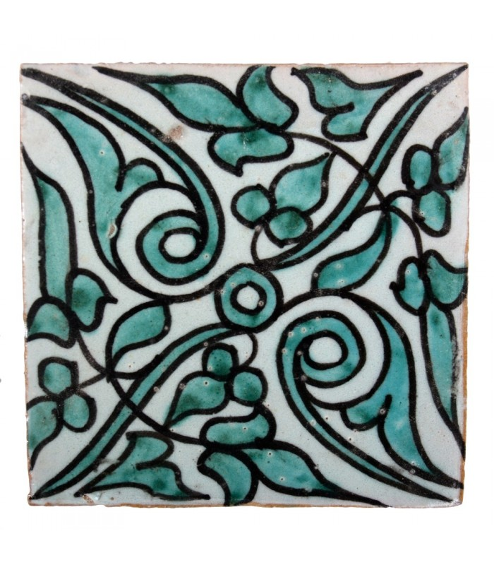 Azulejo Andalusí - 10 cm - Various Designs- Handcrafted- Model 48