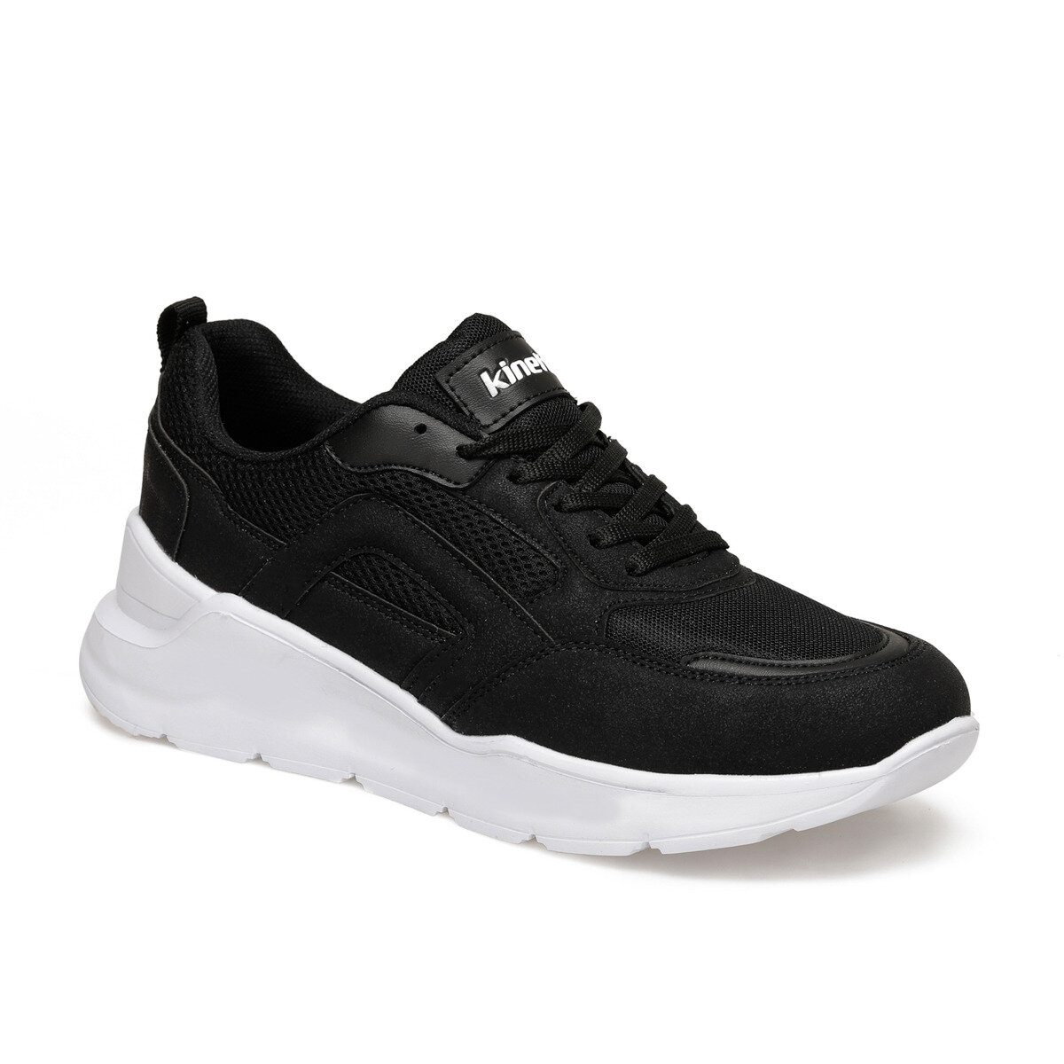 FLO LIDOR Black Male Sports Shoes KINETIX