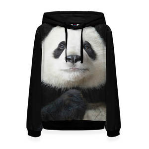 Женская толстовка 3D Панда