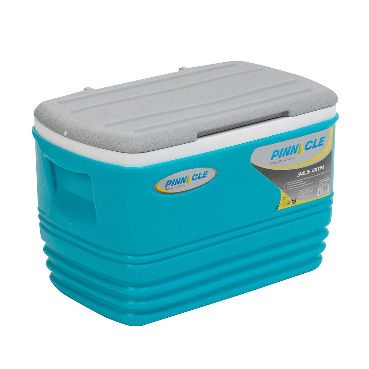 Isothermal. Container Eskimo 34.5l Blue Tpx-6009-34. 5-B Pinnacle