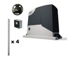 Belle RD400 base автоматики pour portail coulissant avec large ouverture jusqu'à 6 m et peser jusqu'à 400 kg.