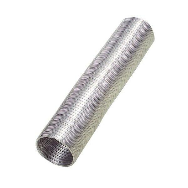 Aluminum Tube Compact Gray Ø 250mm./5 Meters