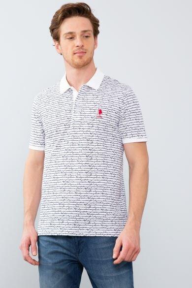 U.S. POLO ASSN. Polo Neck Slim T-Shirt
