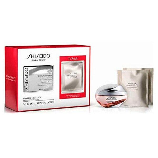 Women's Cosmetics Set Bio Performance Shiseido (3 pcs) shiseido bio performance glow revival cream