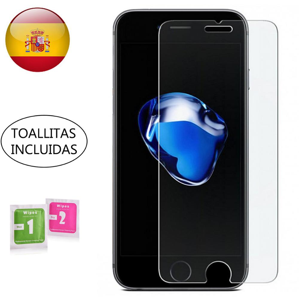 Galleria fotografica Tempered glass screen Protector for Apple IPHONE 5 5S 5C SE 6 6S 7 8 11 PLUS X XS XI PRO