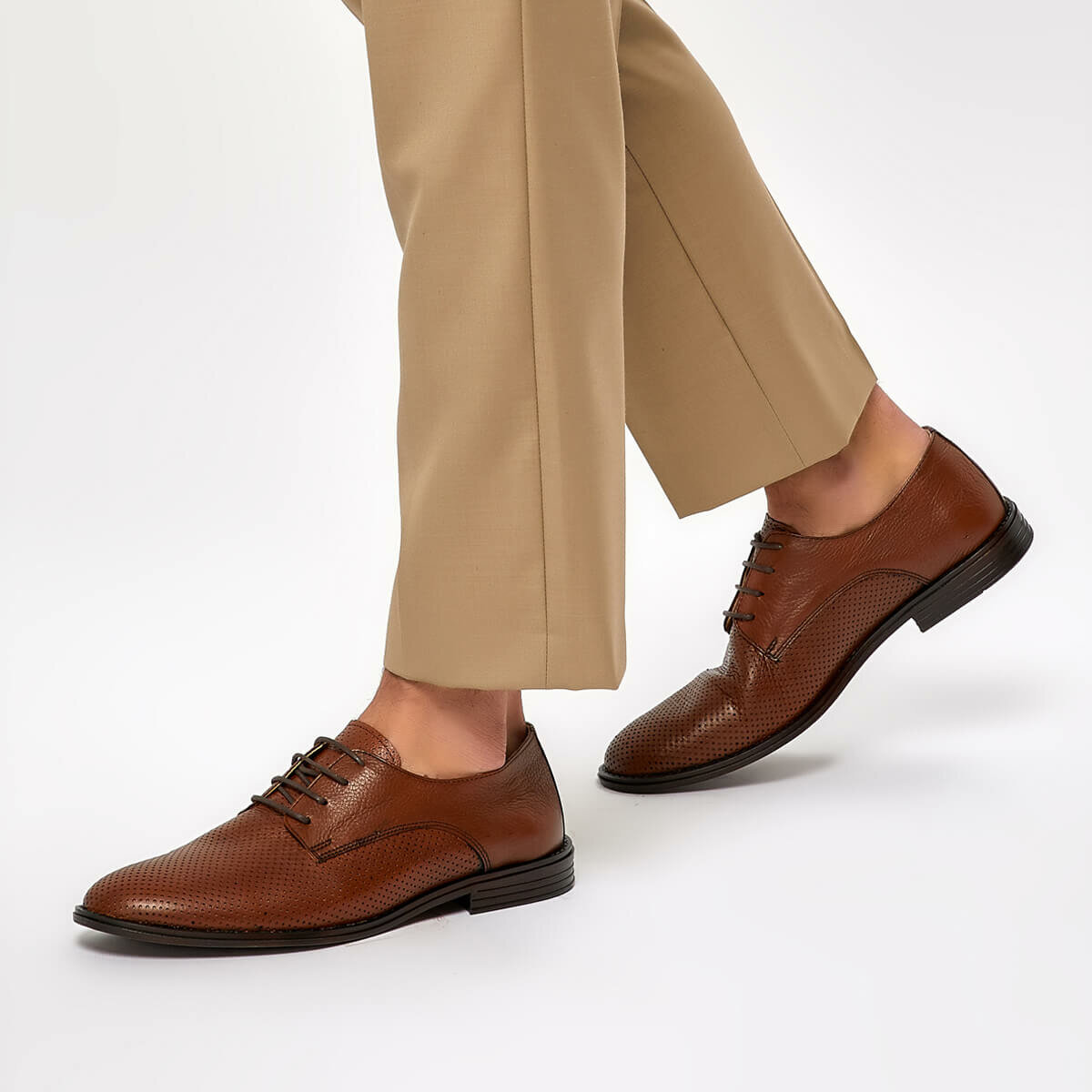 FLO 1300 Tan Men 'S Classic Shoes Garamond