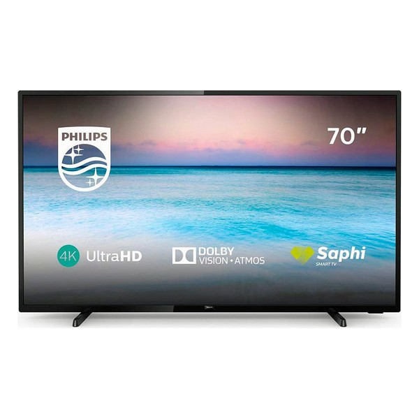"Smart TV Philips 70PUS6504 70"" 4K Ultra HD LED WiFi Black"
