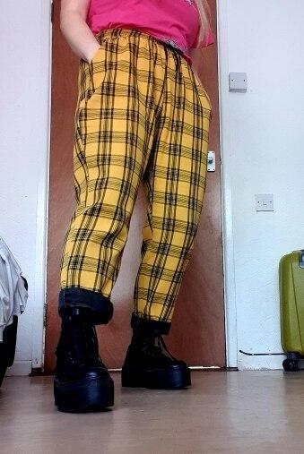 Calças e capris calças corredores sweatpants