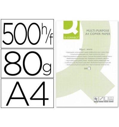 PAPER COPIER Q-CONNECT DIN A4 80 GRAMS-PACK 500 SHEETS