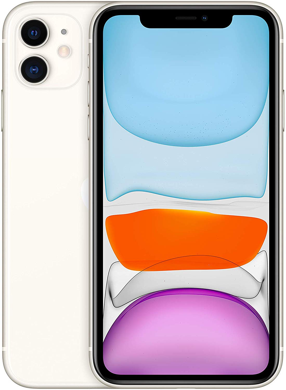 Phone Apple IPhone 11, White Color (White), 6 GB RAM, 64 GB Internal Memory, OLED Display 5,8