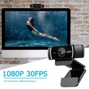 Image 2 - Logitech C922 PRO Webcam 1080P 30FPS Full HD Streaming Video çapa Web kamera otomatik odaklama dahili Stereo mikrofon tripod ile