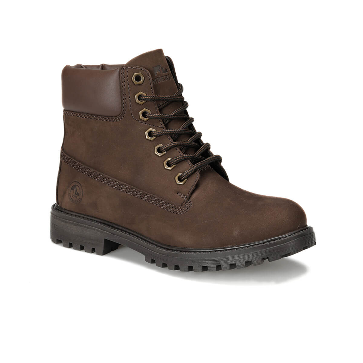 FLO RIVER NUB Black Women Boots LUMBERJACK
