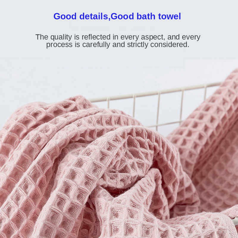 Yianshu 70X140 Cm Chất Lượng Cao 100% Cotton Bánh Khăn Tắm Cho Người Lớn Mềm Mại Khăn Thấm Hút Hộ Gia Đình Khăn Phòng Tắm bộ