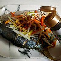 清蒸金鲳鱼的做法图解7
