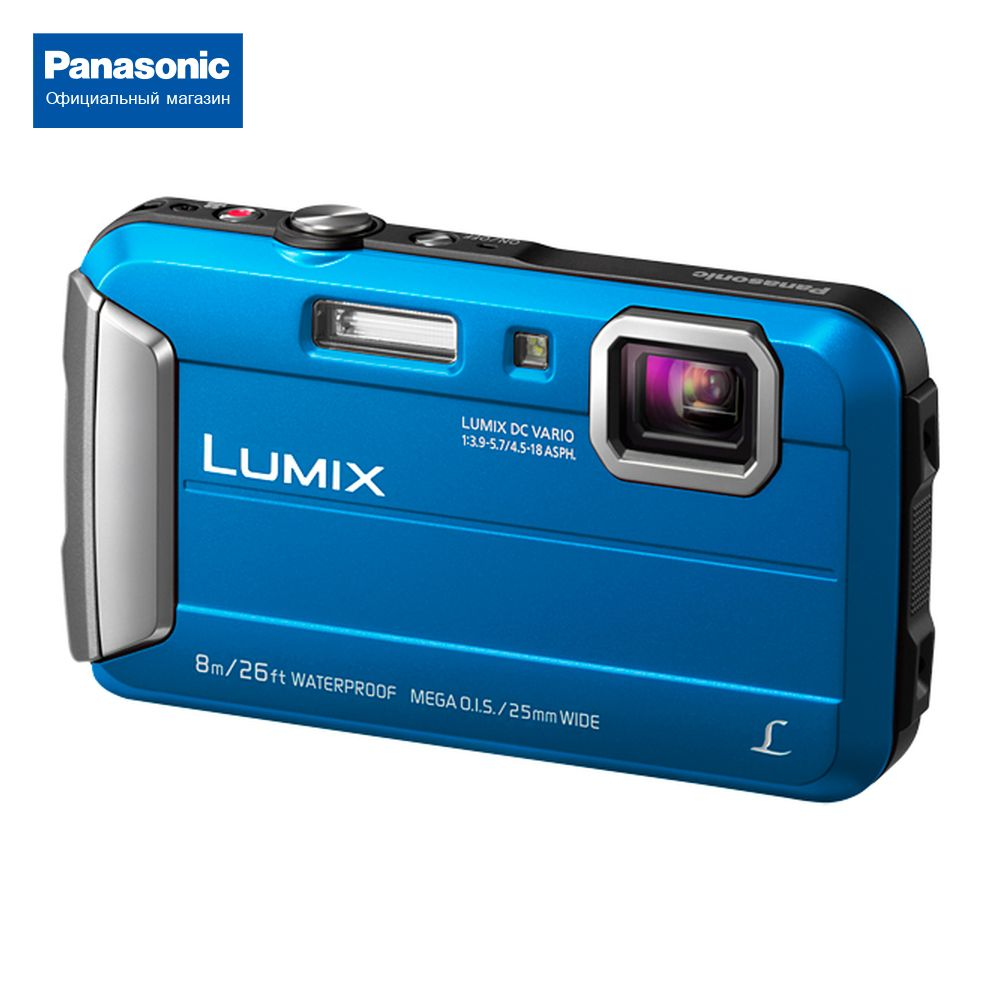 Secure Digital camera Panasonic LUMIX DMC-FT30EE-A image