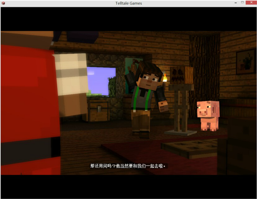 《我的世界:故事模式(Minecraft: Story Mode)》3DM免安装破解版2