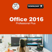 Bureau Office 2016 Pro Plus - clé de vente au détail - 1 utilisateur par clé - Multilangue - livraison gratuite