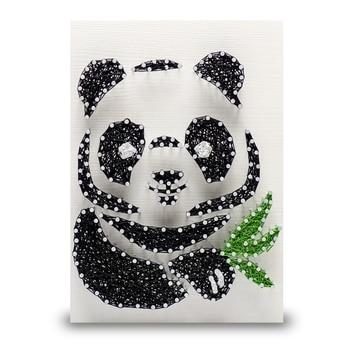String art panda string art lab a4016