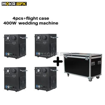 4pcs with flight case Cold Spark Fountain Spark Machine Professional Stage Equipment Spark Firework Machine for DJ Party Show фото