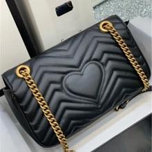Luxury women handbag top quality chains shoulder crossbody bags