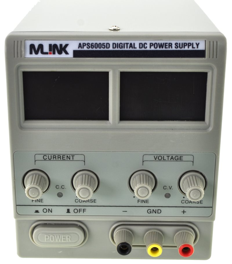 60 V, 5A REGULATED ADJUSTABLE DC POWER SUPPLY Mlink APS6005D