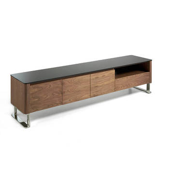 Hickory Tree TV cabinet, modern living room TV cabinet, TV furniture Italian design, TV cabinet cajon and doors, modern TV, 3047 Angel Cerdá S.L