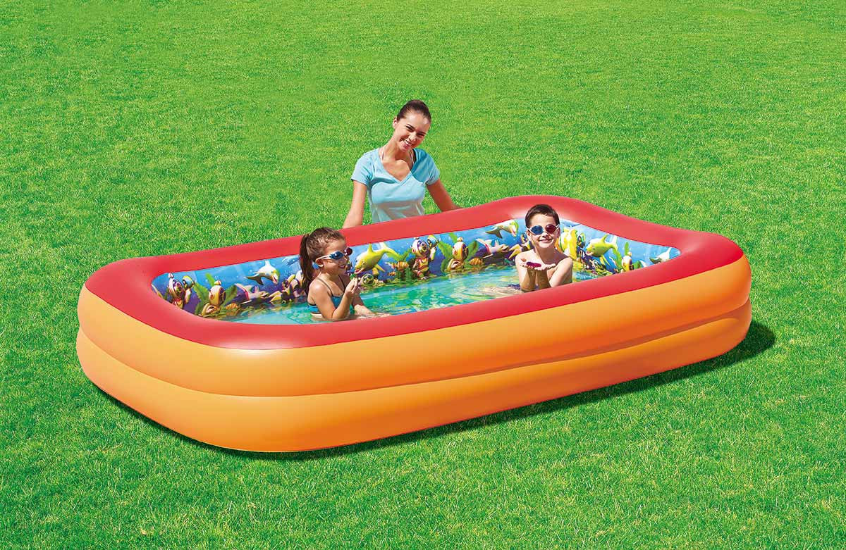Bestway Inflatable Pool 3D Child Adventure. -54114