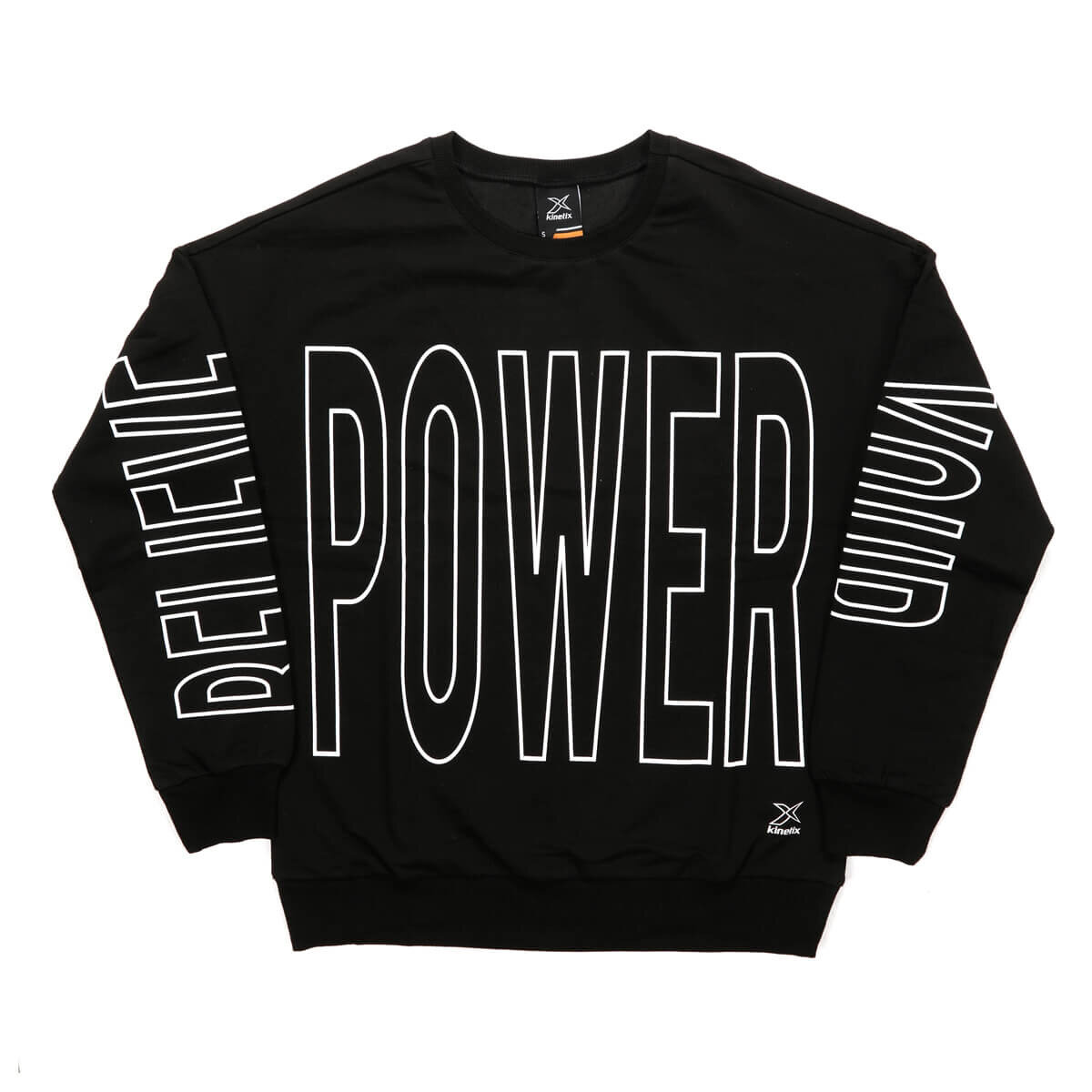 FLO CAREY SWEAT Black Women Sweatshirt KINETIX