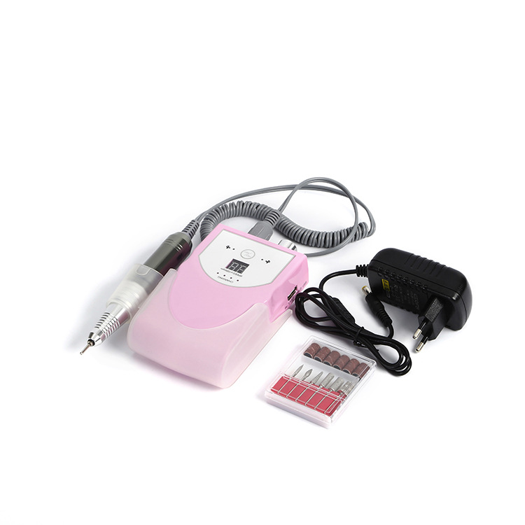 Portable Rechargeable Display Screen 30000RPM Electric Nail Drill Machine Manicure Drills Pedicure File Nail polisher Tool