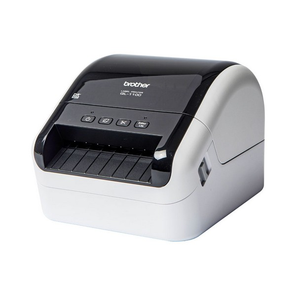 USB Label Printer Brother QL 1100 White Printers     - title=