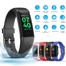 MK05 New Smart band Pedometer Heart rate Blood pressure Sleep monitor Fitness Tracker Smart Bracelet Waterproof Smart Wristband цена 2017