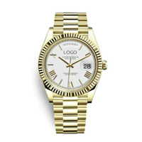 Ladies Wrist Watches Dress Gold Watch Women Crystal Diamond Watches Stainless Steel Silver Clock Women Dropshipping Rolexable