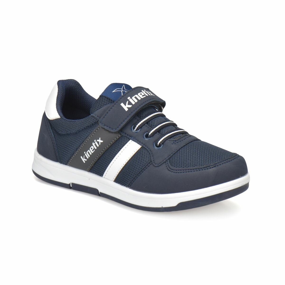 FLO UPTON Navy Blue Male Child Sneaker Shoes KINETIX
