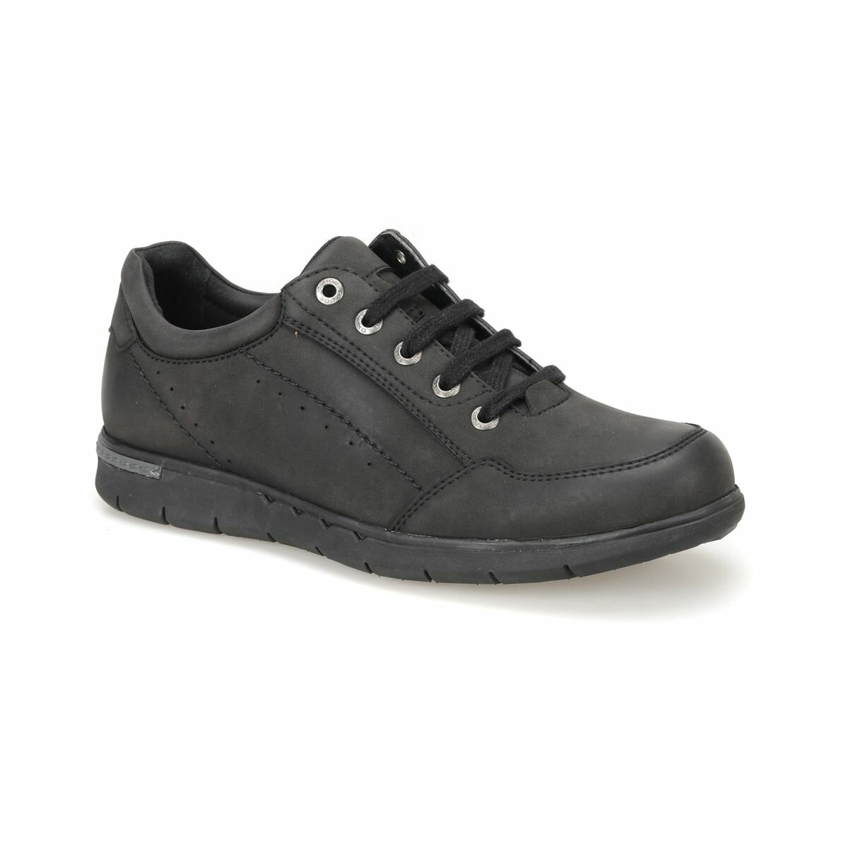 FLO 7SF-308-C Black Men 'S Classic Shoes Flexall