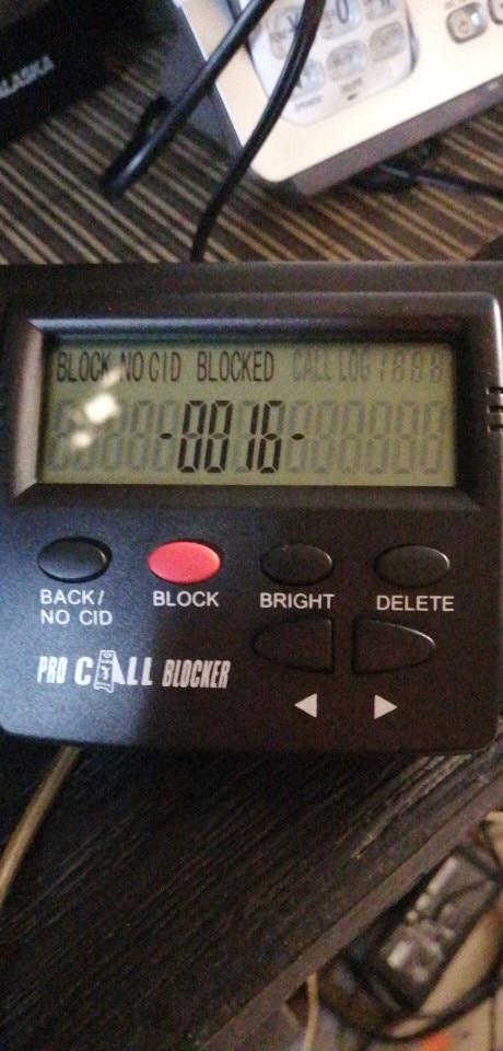 Caja de identificación de llamadas para teléfono fijo, bloqueador de llamadas, permite detener las llamadas molestas, 1500 de ca