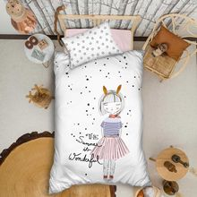 Organic %100 Cotton Duvet Cover Set 3pcs Quilt Single Bed Linen Bed Sheet Pillowcase Kids Boy Girl Nordic Edredon постельное