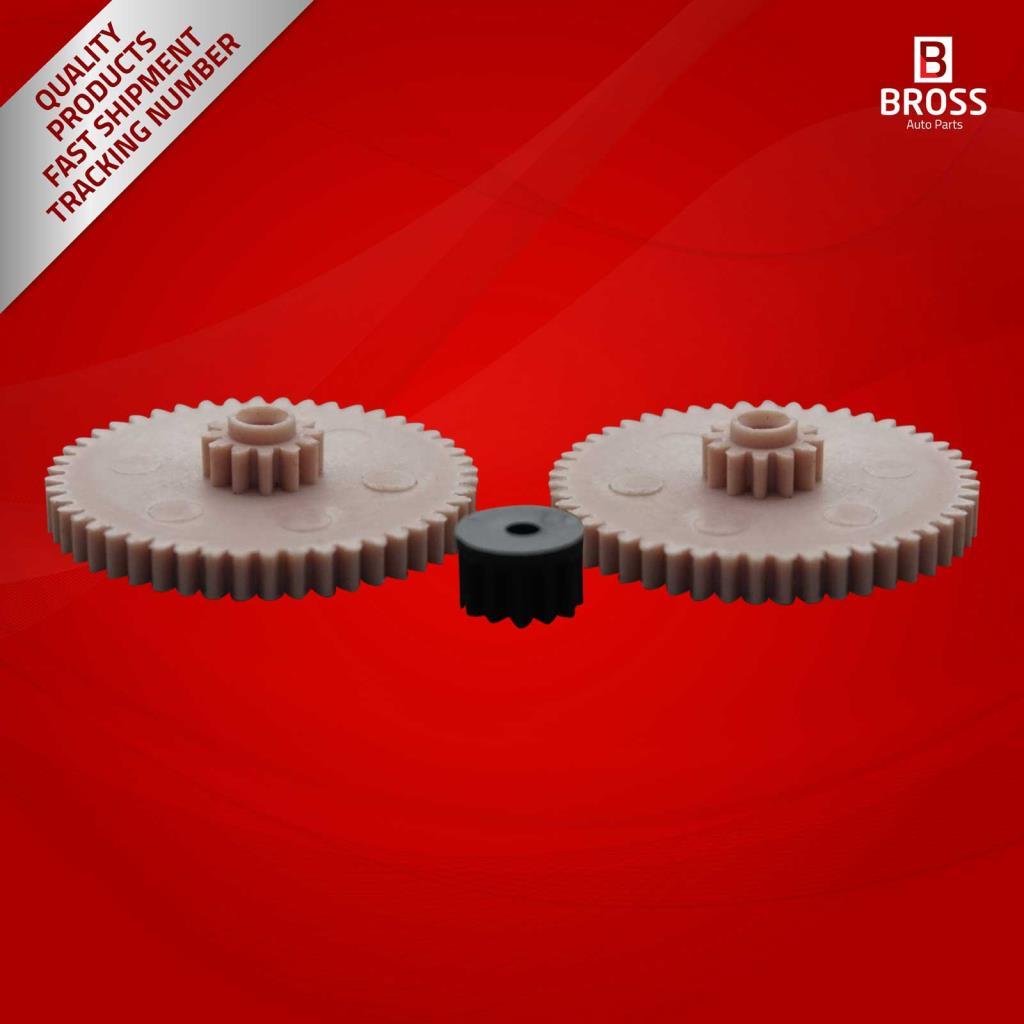Bross BGE511 électronique 3 pièces odomètre ensemble de pignons pour Benz G Wagen (460-461), classe S (126), série 3 E30, série 5 Non-US E28