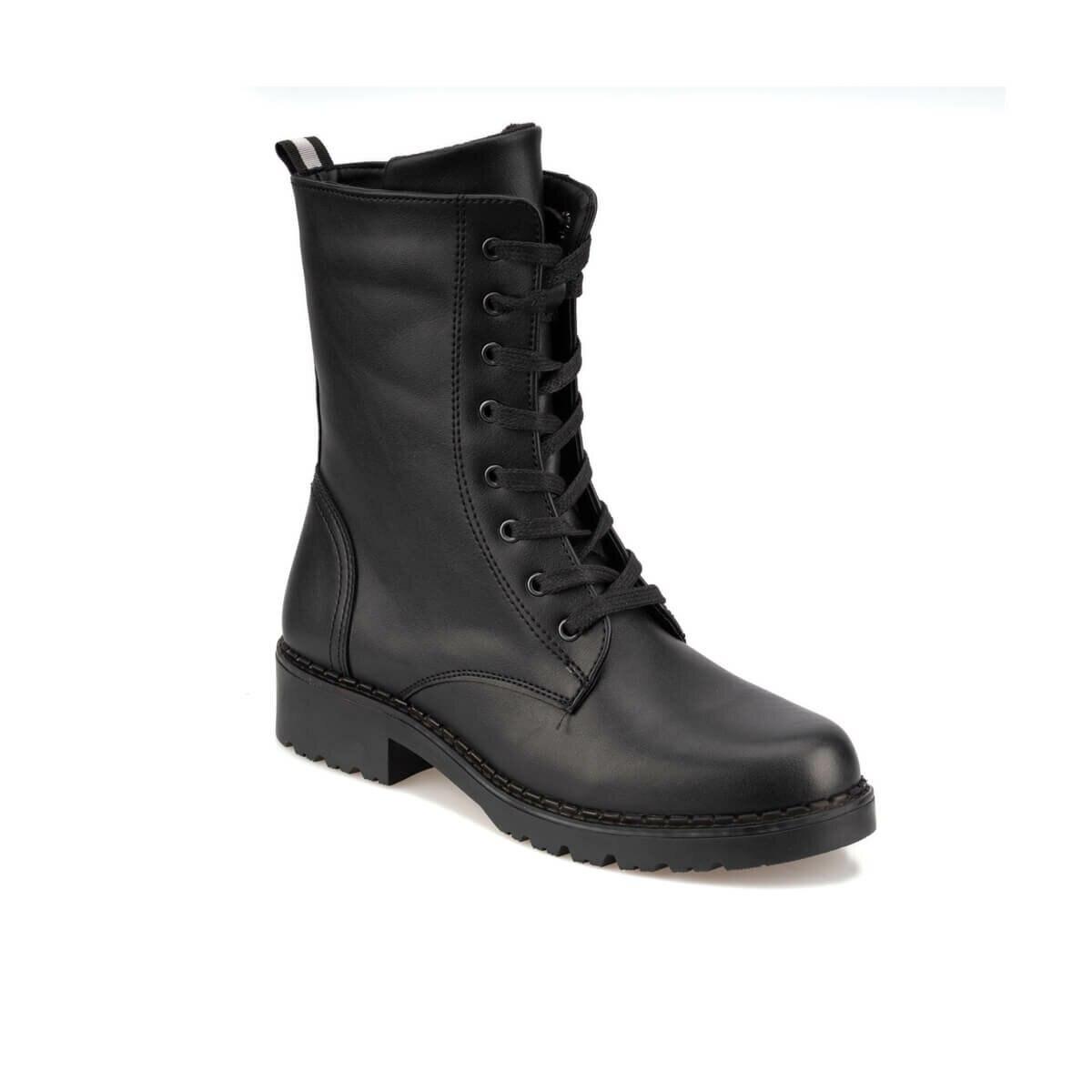 FLO 92.314664.Z Black Women Boots Polaris