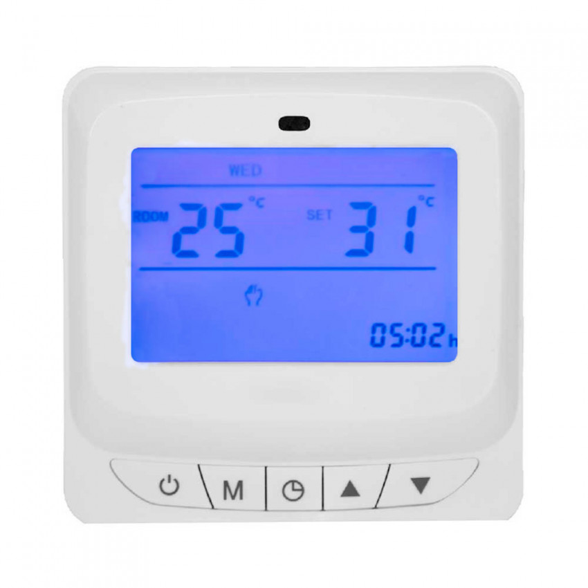 Programmable Digital Thermostat 7hSevenOn Elec