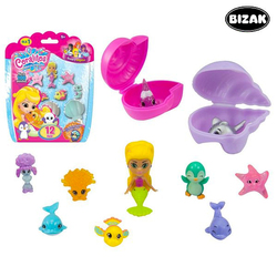 Set of Bath time Animals Bizak 63157597 (12 pcs)