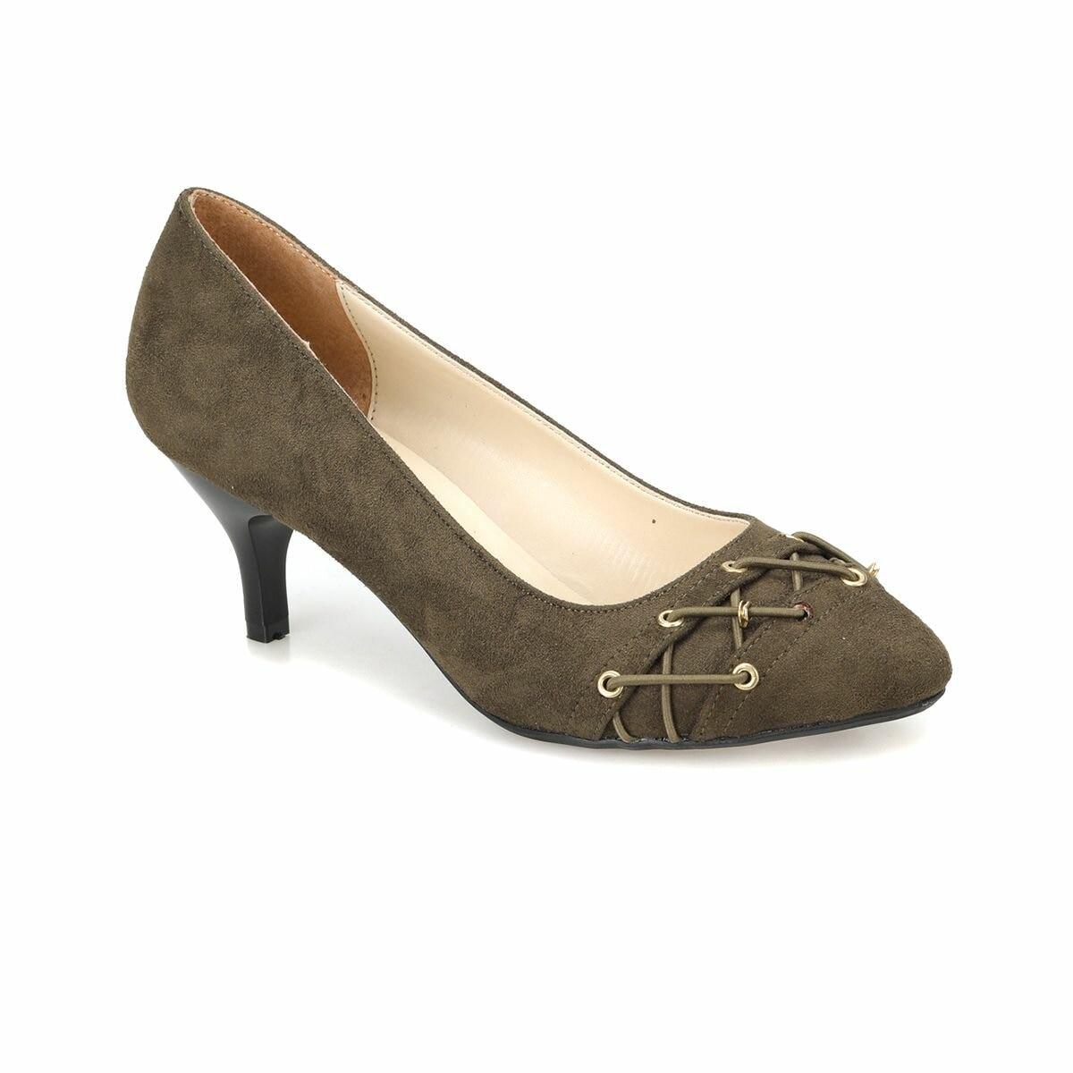 FLO DW18041 Khaki Women Gova Shoes Miss F