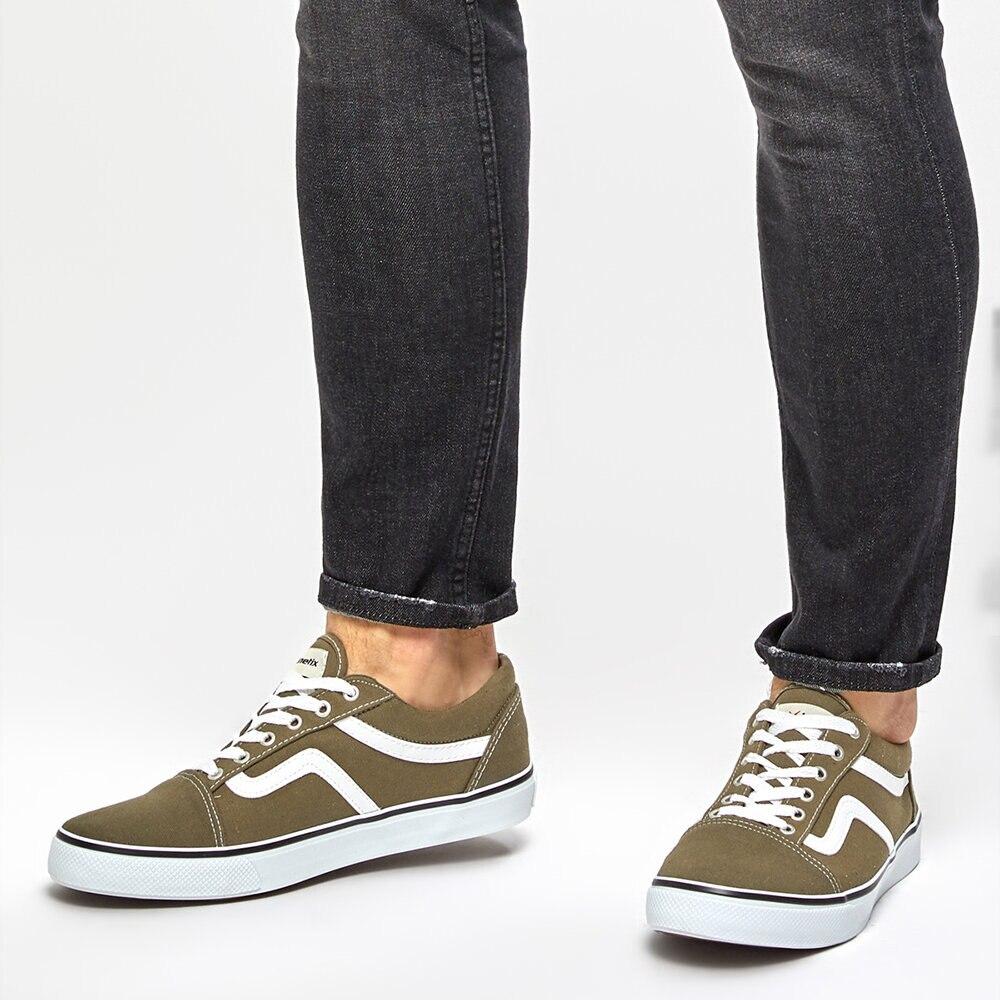 FLO HANS Khaki Men 'S Sneaker Shoes KINETIX