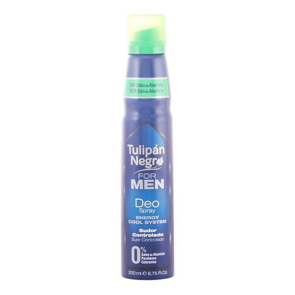 Spray Deodorant For Men Tulipán Negro (200 Ml)
