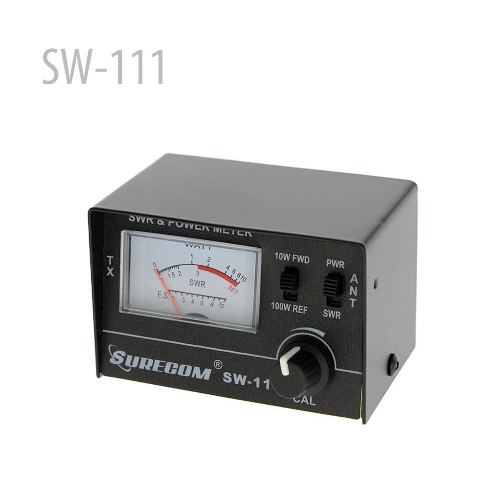 SURECOM SW-111 100 Watt SWR / POWER Meter For CB Radio ANTENNA (126371)