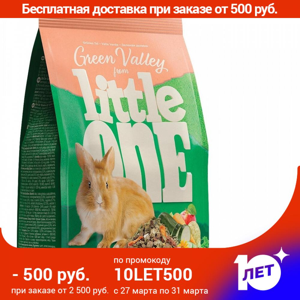 Little One Green Valley Feed For Rabbits, Herbs, 750g.