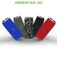 HOPESTAR A6 Bluetooth speaker 35 W Column for bass subwoofer Portable wireless loud speaker stereo waterproof