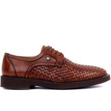 Fosco-sapatos casuais masculinos de couro