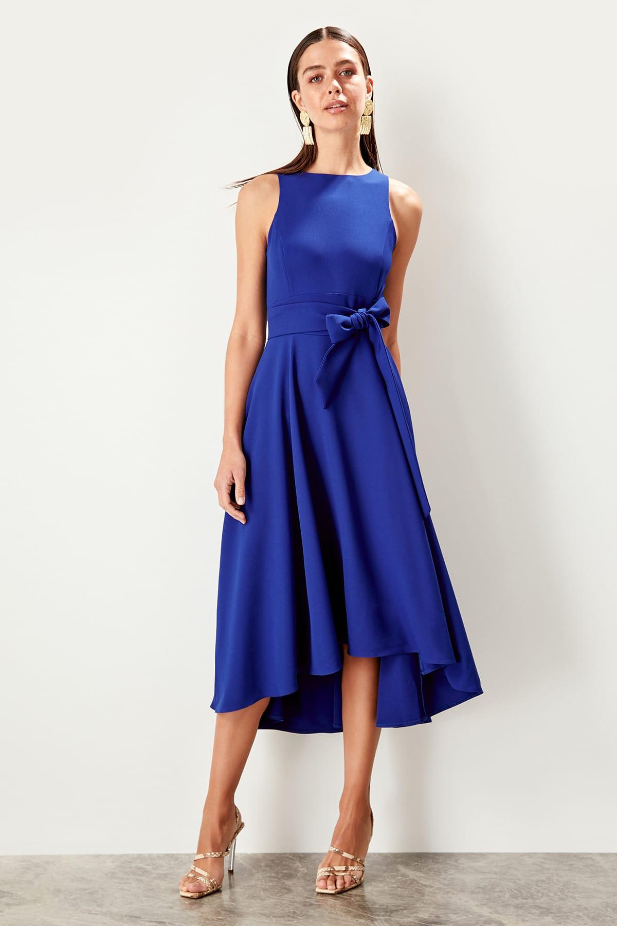 Trendyol Belted Dress TPRSS19FZ0068