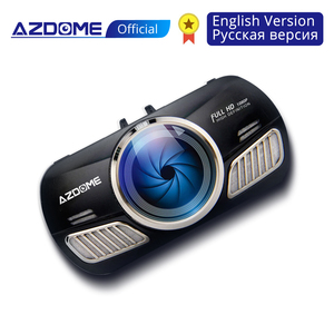 AZDOME M11 Dash Cam 3 inch 2.5D IPS Screen Full HD1080P Car Camera DVR Dual Lens Night Vision 24H Parking Monitor Dashcam GPS(China)